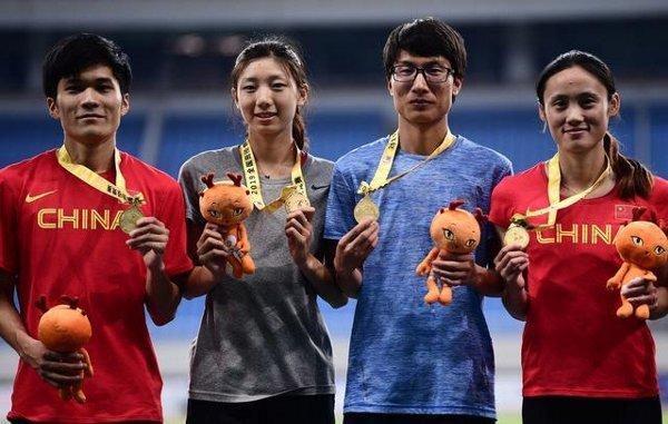 男疑惑の中国陸上女子選手2